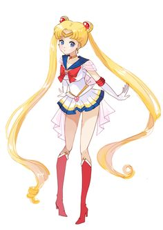 Sailor Moon. Oh my god, I'm not even into these kind of shows but when I was really little for some reason this was my favorite.