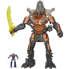 Transformers Age of Extinction Stomp and Chomp Grimlock Figure. Find out whohas.it here http://whohas.it/g/478
