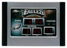 Philadelphia Eagles Alarm Clock Scoreboard