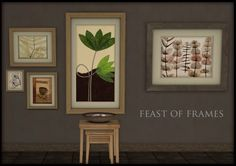 Buggy's retreat: A Feast of Frames