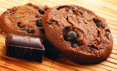 Cookies com pedaços de chocolate #biscoitos #dicas