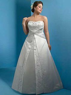 vestidos plus size de noiva