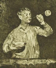 Child Blowing Bubbles (L'enfant aux bulles de savon), 1868 - Edouard Manet, Van Gogh Museum, Amsterdam (Vincent van Gogh Foundation), View this artwork Van Gogh Museum, Fine Art Prints, Framed Prints, Canvas Prints, Berlin, Edouard Manet, Soap Bubbles, Gravure, Dibujo