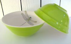 Dragonfly Bowl Set...Fly Dragonfly Fly