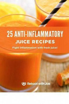 25 Anti-Inflammatory Juice Recipes eBook - Detox drinks to cleanse Liver Detox Juice, Detox Diet Drinks, Detox Juice Recipes, Healthy Drinks, Smoothie Recipes, Detox Juices, Cleanse Detox, Cleanse Recipes, Liver Cleanse
