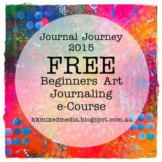 Kreative Koncepts Mixed Media: Journal Journey is open for registration now - Registration closes FREE class Mixed Media Techniques, Art Journal Techniques, Fajardo, Art Journal Pages, Art Journals, Visual Journals, Creative Journal, Creative Art, Altered Books