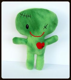 Zombie Boy  Large by Supergeekboutique on Etsy