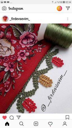 Çok Beğeneceğiniz Bir Model Yaptım😍🌲🍂🍃🍁👉Çam Oyası👈 Crochet Borders, Crochet Stitches, Knit Crochet, Embroidery On Clothes, Hand Embroidery, Bargello, Knitted Shawls, Baby Knitting Patterns, Knitting Socks