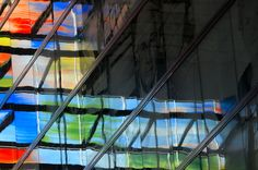 https://flic.kr/p/srFuid   Z/W - Kleur (live in technicolor)   This pictures shows a part of the colourful building of the Netherlands Institute for Sound and Vision. This picture was especially created for Else Kramers Synchroonkijken 2015 challenge.  #hoeken #synchroonkijken2015 #opwarmopdracht