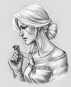 Cirilla Fiona Elen Riannon by NastyaKulakovskaya
