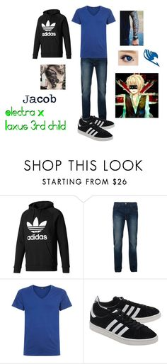 """""""Jacob Marcus Dreyar"""" by electraxlaxus ❤ liked on Polyvore featuring adidas, Bellfield, Hanro, adidas Originals and Eos"""