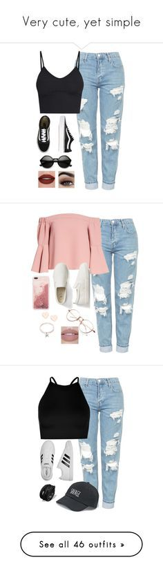 Very cute, yet simple by lollypopz951 on Polyvore featuring polyvore, cute, simple, fashion, style, Topshop, Vans, ZeroUV, clothing, Gap, Ted Baker, Boohoo, adidas, SO, ONLY, Rebecca Minkoff, WithChic, Simons, Miss Selfridge, Converse, Amanda Rose Collection, Kate Spade, Quay, AK Anne Klein, Recover, Lokai, H&M, Vera Bradley, Fallon, Casetify, swag, Belkin, NAKAMOL, Sans Souci, rag & bone, prAna, Jouer, Lime Crime, RED Valentino, River Island, Caso, Aéropostale, M&Co, New Look, Agent 18…