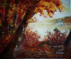 Bolyongás a Tiszaparton. Olaj, 38x46cm, vászon. Painting, Art, Painting Art, Paintings, Kunst, Paint, Draw, Art Education, Artworks