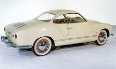#ThrowbackThursday Volkswagen celebrates the Karmann Ghia's 60th anniversary. A very stylish automobile.
