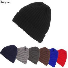 FANALA Winter Hat Caps Brand Beanies Knit Men s Skullies Bonnet Winter Hats  For Men Women Beanie 02186d2f41cb