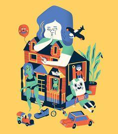 https://www.behance.net/gallery/23094855/Dollhouse?utm_medium=email