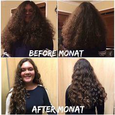 aprilmaszy.mymonat.com amazing transformation. Monat is perfect for the whole family!
