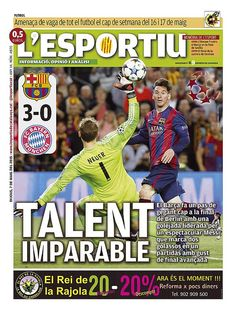 Messi hits world headlines again | FC Barcelona