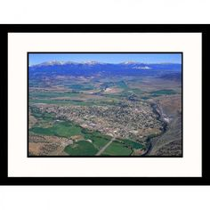 Great American Picture Arkansas River Valley in Salida, Colorado Framed Photograph - Paul Gallaher -