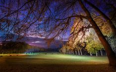 As the event at the chateau was winding down on the final evening, we all dispersed to take late night photos in the dusk. There were good angles everywhere. One of my favorite was up under this tree. But it was also very interesting to watch where everyone else walked.  - Paris, France  - Photo from #treyratcliff Trey Ratcliff at http://www.StuckInCustoms.com