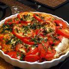 Balsamic Chicken and Mozzarella Recipe  Ingredients: chicken, balsamic vinagarette, tomatoes, mozarella