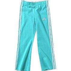 Adidas Girls 4 - 6X Aqua WorkOut Pant