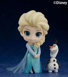 「アナと雪の女王」エルサの「ねんどろいど」彩色原型公開 ありのままの姿見せるのよ!