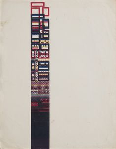 Karel Martens Untitled, 1958 letterpress monoprint on paper 9 × 11 ⁵⁄₈ in. (229 × 295 mm)