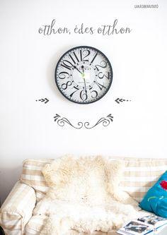 Pin magazin 2014 autumn - No. Make It Simple, Clock, Autumn, Home Decor, Watch, Decoration Home, Fall Season, Room Decor, Clocks