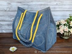 Diy Pouch Tutorial, Cosmetic Bag Tutorial, Coin Purse Tutorial, Patchwork Tutorial, Denim Bag Patterns, Hobo Bag Patterns, How To Make Jeans, Drawstring Bag Tutorials, Patchwork Bags