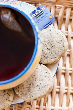 Black Currant Alokozay Tea Shortbread Cookies are the perfect snack for tea time. #TEAdays | livinglou.com