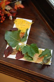 L is for Leaf - I Can Teach My Child! Great resource with ideas by age.