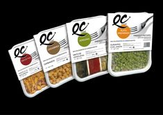 Packaging, Convenience foods on Behance