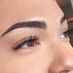 Eyebrow tattoo by Shaughnessy. #eyebrow #cosmetic #brow