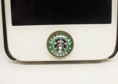 Starbucks coffee button