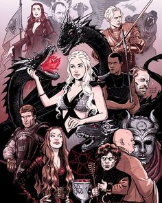 Find images and videos about art, drawing and game of thrones on We Heart It - the app to get lost in what you love. Game Of Thrones S7, Game Of Thrones Series, Got Dragons, Mother Of Dragons, Jaime Lannister, Cersei Lannister, Arya Stark, Bear Paw Print, Daenerys Targaryen