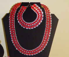 Pop can pull tab necklace