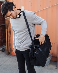 Getting out on the weekend Getting Out, Sling Backpack, Mens Fashion, Instagram, Style, Moda Masculina, Swag, Man Fashion, Fashion Men