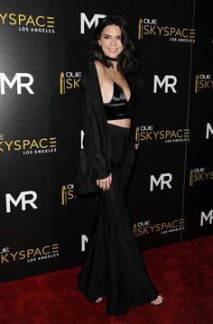 Pin for Later: Kendall Jenner Transformed Her Bra Into a Going-Out Top —and It Was Brilliant