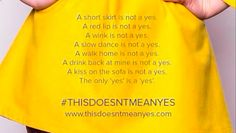 #ThisDoesntMeanYes Is a Powerful New Anti-Rape Campaign Happening in the U.K.