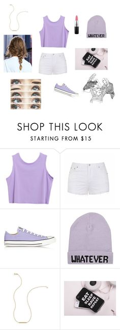 """Untitled #212"" by andi-flick125 ❤ liked on Polyvore featuring Ally Fashion, Converse, River Island, MAC Cosmetics and Brinley Co"
