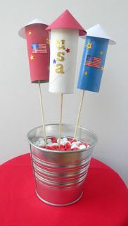 Quick and Easy Fireworks Craft | Pams Party & Practical Tips