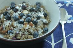 - Breakfast Quinoa