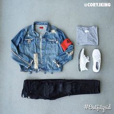 Outfitgrid started as a way of bringing the community together to showcase style. Lit Outfits, Cool Outfits, Casual Outfits, Men Casual, Fashion Outfits, Fasion, Hype Clothing, Mens Clothing Styles, Boys Dress Clothes