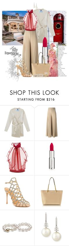 """1st Day of Training at my new Boutique; I take over Ownership March 1st!"" by flippintickledinc ❤ liked on Polyvore featuring Blumarine, Givenchy, Oscar de la Renta, Schutz, Michael Kors, Belpearl and Ross-Simons"