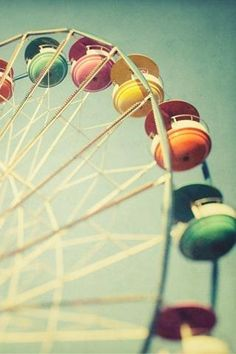 View bigger - Dreamy Ferris Wheel Wallpaper for Android screenshot