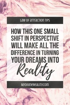 The tiniest bit of resistance can affect your point of attraction.Learn how this small shift can make all the difference in turning your dreams into reality Make All, How To Make, Different, Live For Yourself, Definitions, Attraction, Perspective, Dreaming Of You, Goals