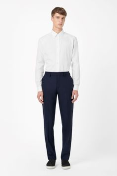 COS | Textured wool trousers