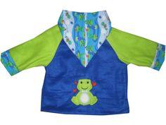 Wende Fleecejacke Jersey  Gr. 68/74 Jacke Baby von me Kinderkleidung und ersatzbezuege auf DaWanda.com