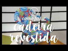 CADEIRA PLÁSTICA REVESTIDA EM CHITA | DECORAÇÃO INFANTIL, FESTA, CASA, QUARTO, CASAMENTO, DECORAÇÃO COM TNT